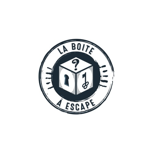 Création de logo pour une box d'escape game