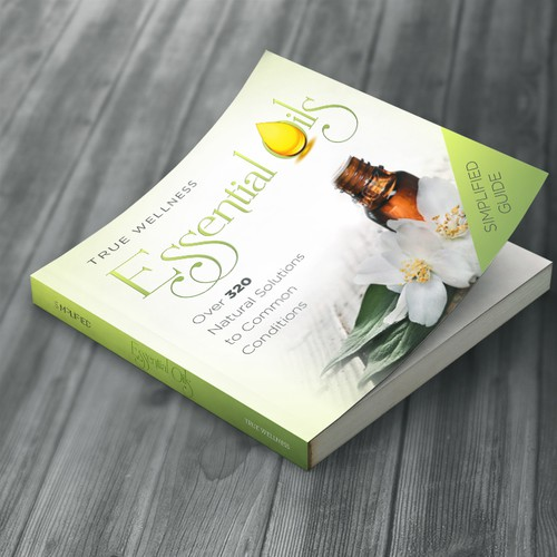 """Essential Oil"" Book Cover"