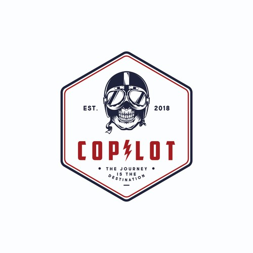 concept logo for copilot