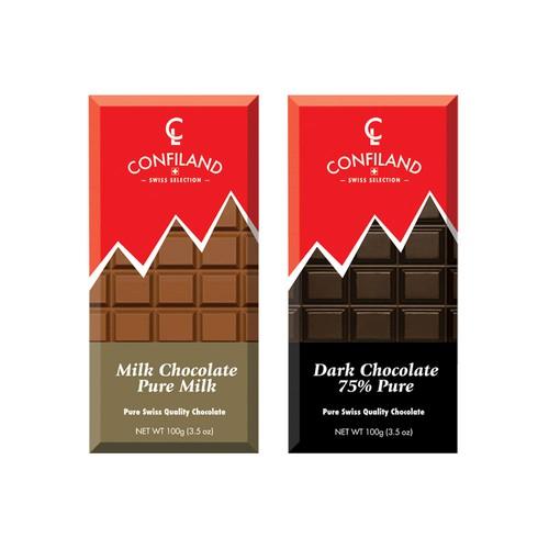 Swiss Chocolate Package Design