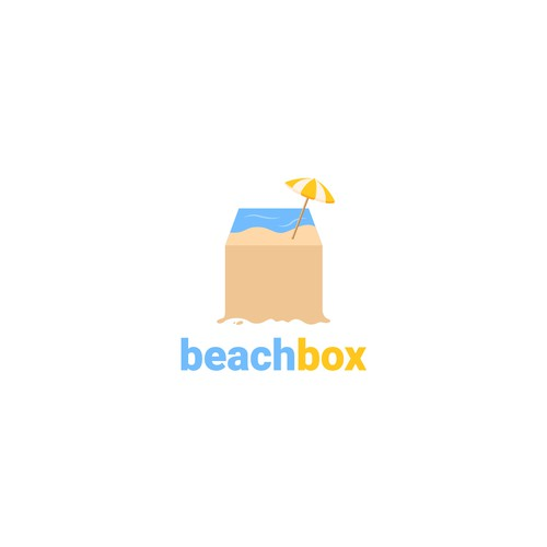 Unique Business Logo for BeachBox Subscription Boxes