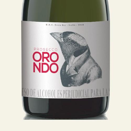 Orondo Prosecco Wine label