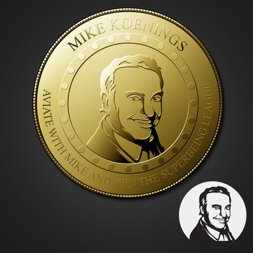 MIKE COIN ILLUSTRATION