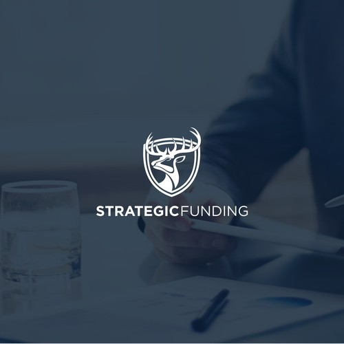 Strategic Funding needs a stag-themed logo to make an impression!