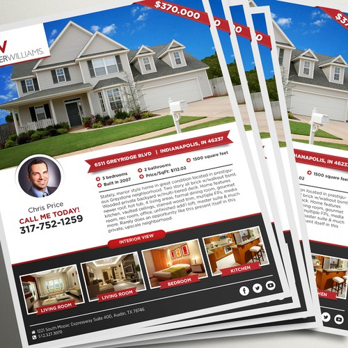 Flyer Design for Real Estate Company!