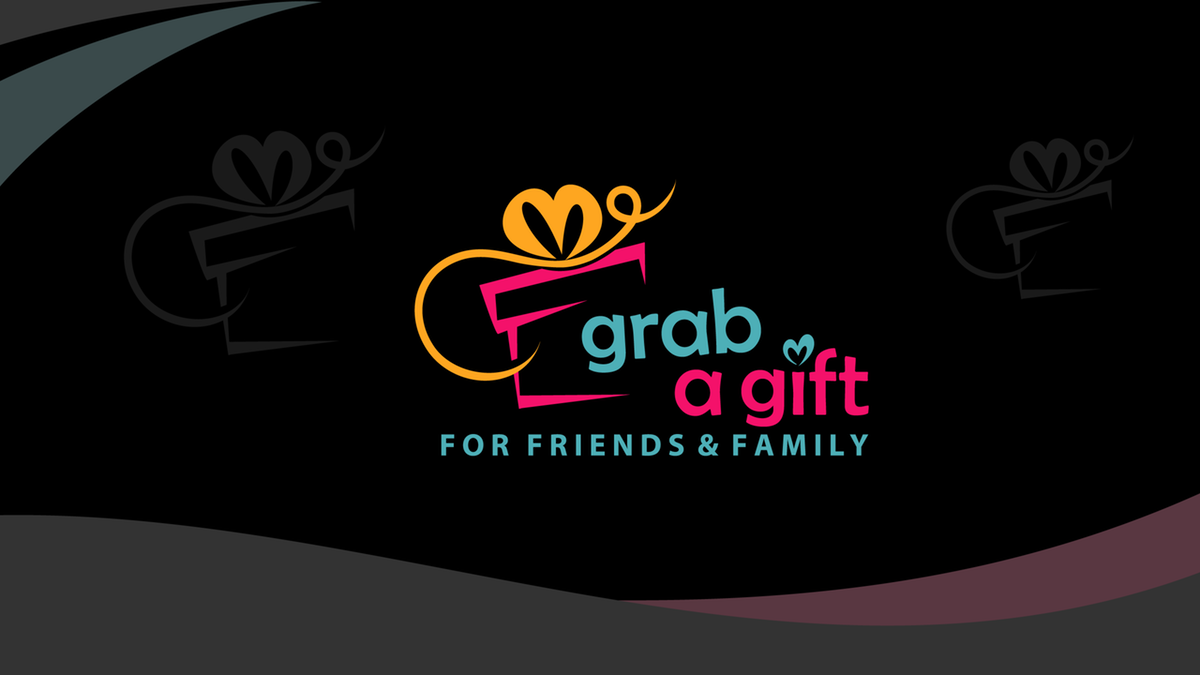 Logo for Grab A Gift for friends & family