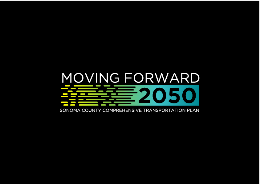 Design a logo for a local government transportation plan in Sonoma County