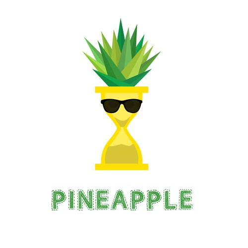 "Logo for time-tracking company ""Pineapple"""