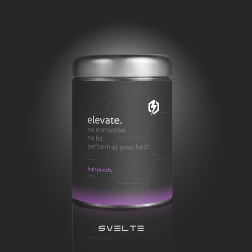 Fitness Supplement Packaging