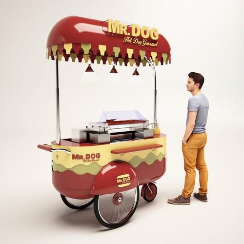 Hot Dog Gourmet Cart
