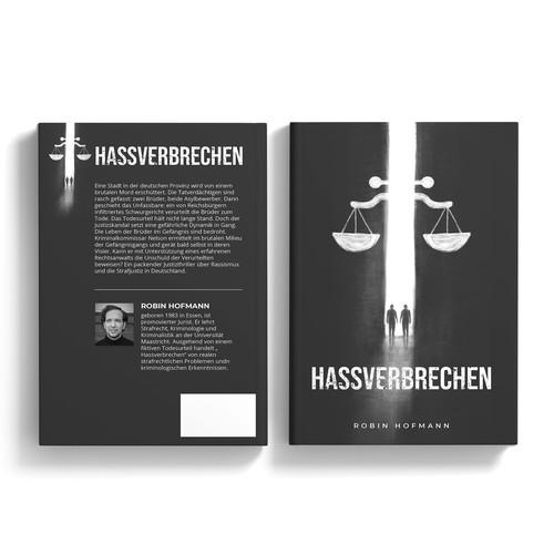Hassverbrechen - Book Cover Design Contest
