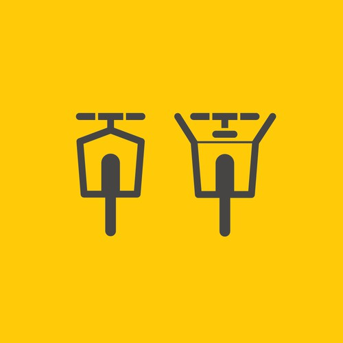 Design amemorable logo to revolutionise bicycle commuting.