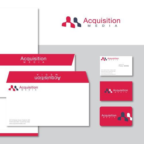 Professional Logo & Identity for Customer Acquisition Company