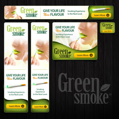 Banner Ad for Electronic Cigarette