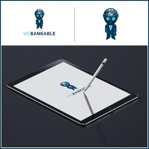 Concept de logo Webankable