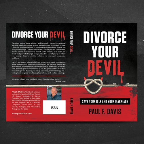 Book cover about divorce
