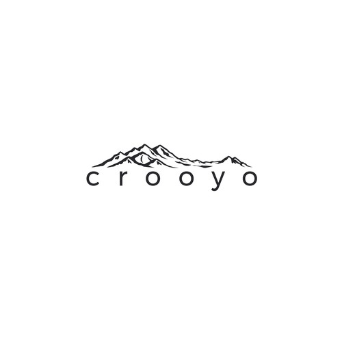challenging yet fun logo concept for crooyo company