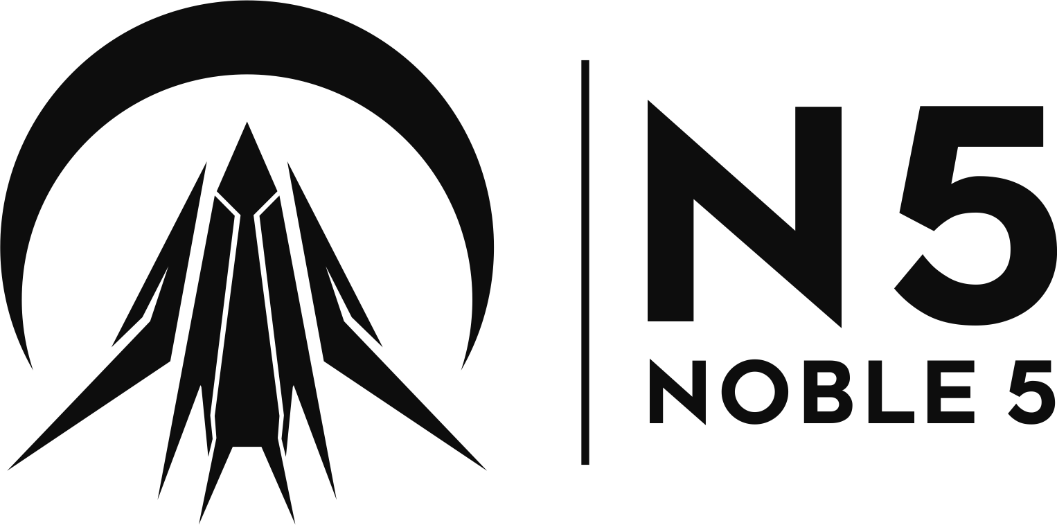 Logo for Noble 5 gaming mouse. Space themes encouraged!