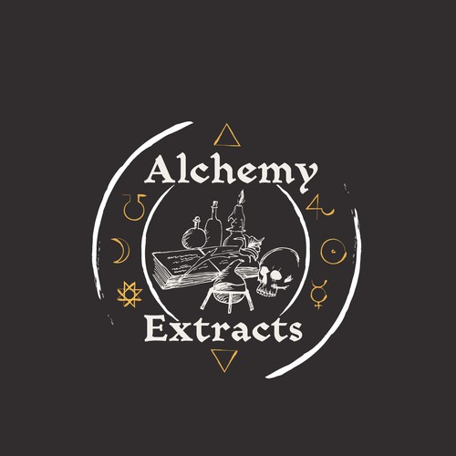 Alchemy Extracts - Cannabis Oil logo
