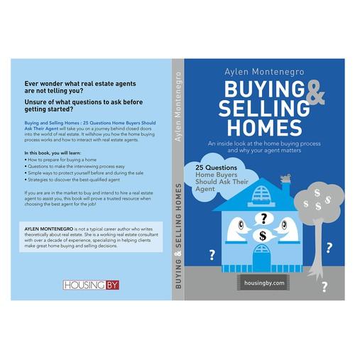 Proposition de couverture de livre pour une agence immobilière