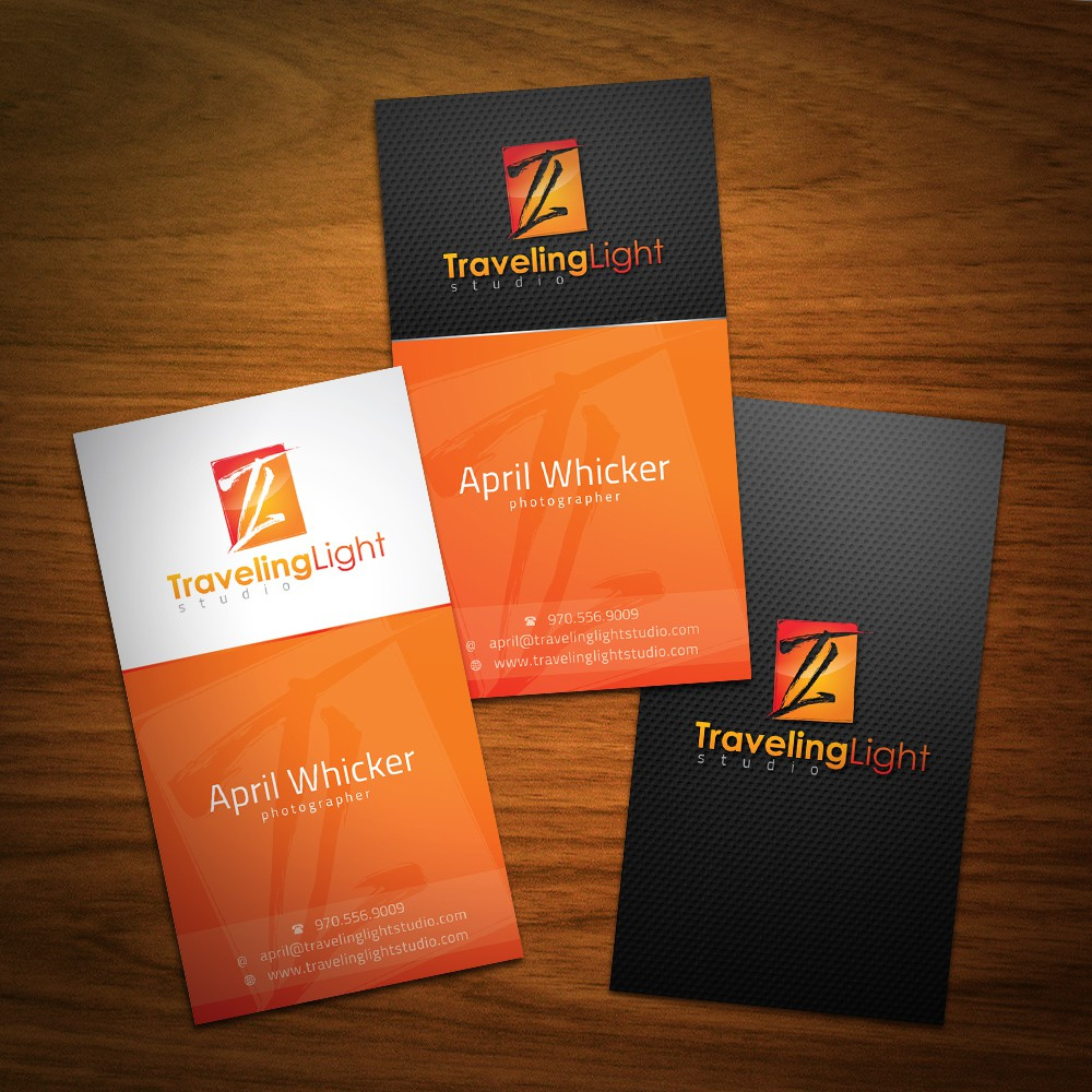 Traveling Light Studio needs a logo and business cards!