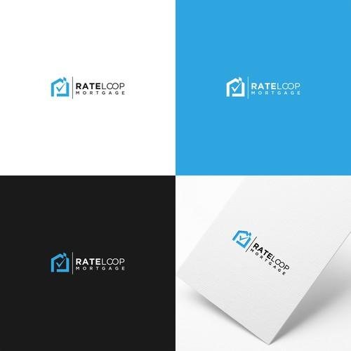 RateLoop Mortgage brand identity needed