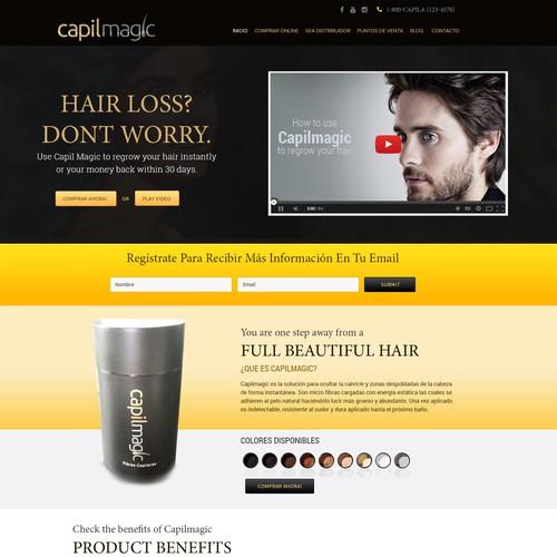 Hair BuildingG fibre CapilMagic