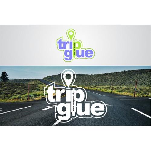 Trip Glue Logo Design