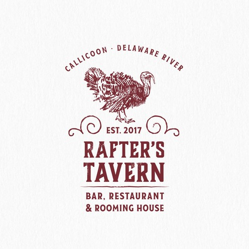 Logo for a tavern