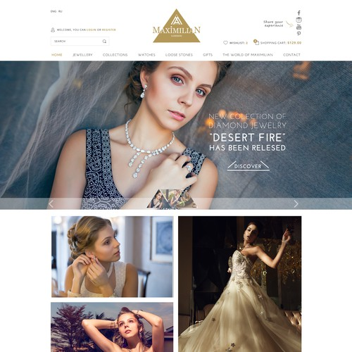 Jewelry Elegant Template