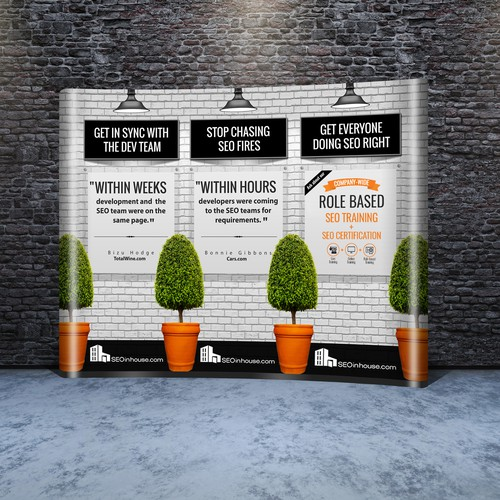 10'X8' Banner for Trade Show (Update existing design)