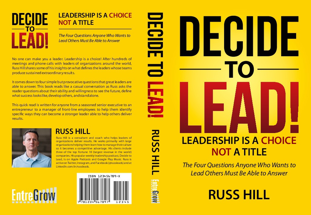 Decide to Lead Title Cover