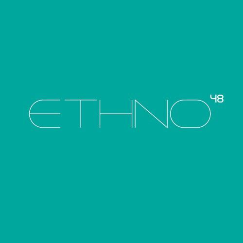 Unique thin logo