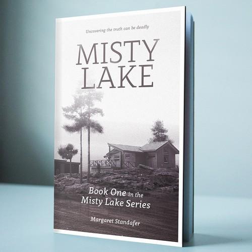 Cover design for the romance novel Misty Lake