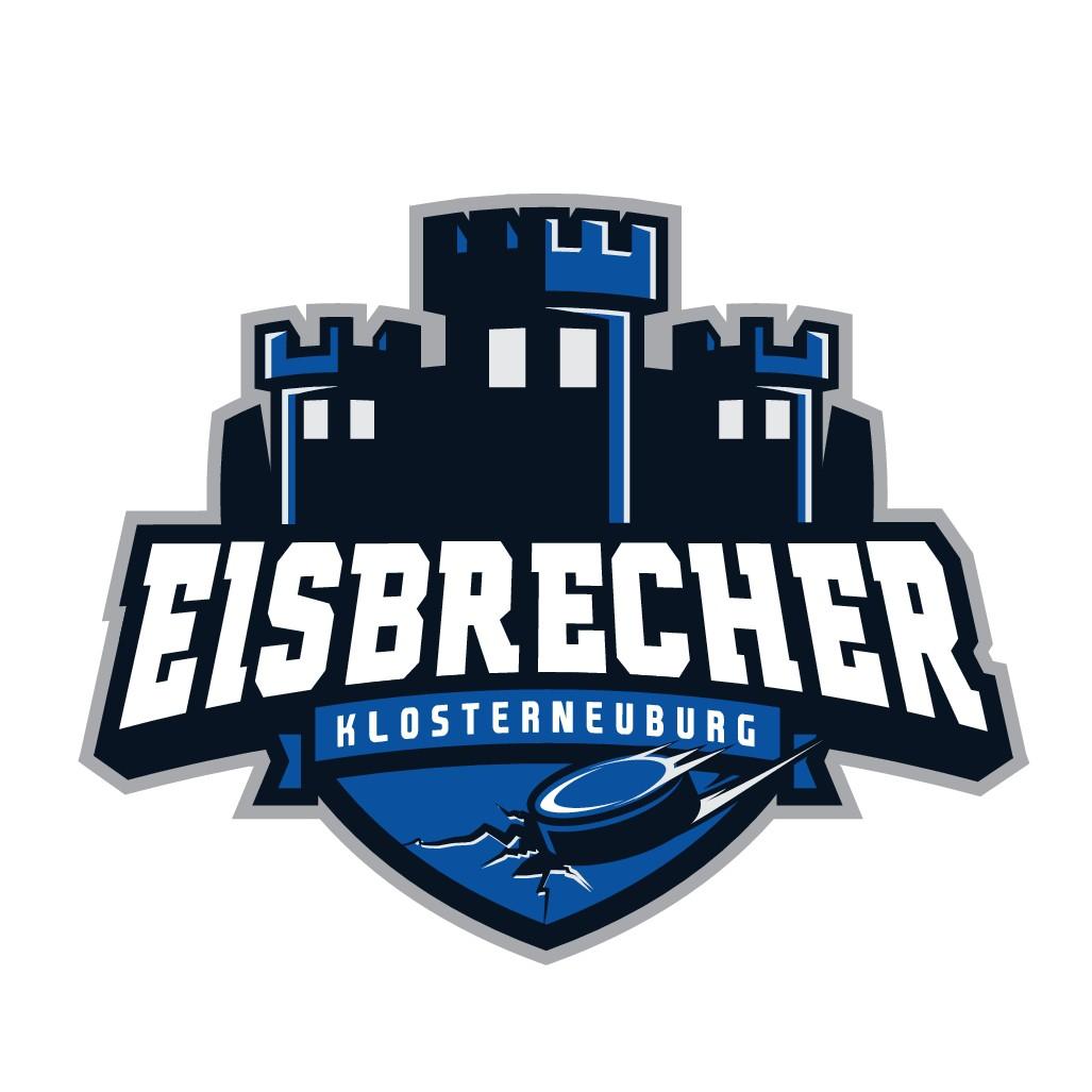 """Logo für Jugendeishockeyverein """"Eisbrecher Klosterneuburg"""""""