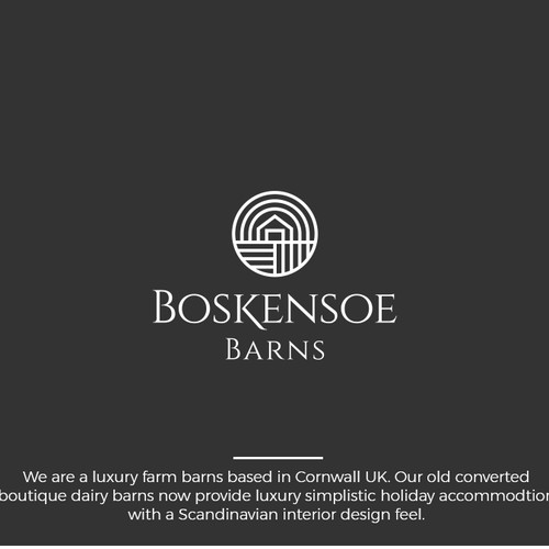 Boskensoe Barns Logo Design