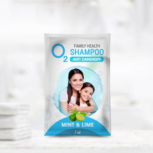 Project Oxygen (shampoo label