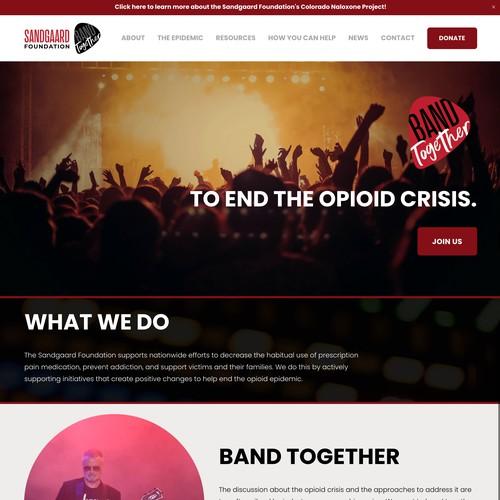Sandgaard Foundation Redesign