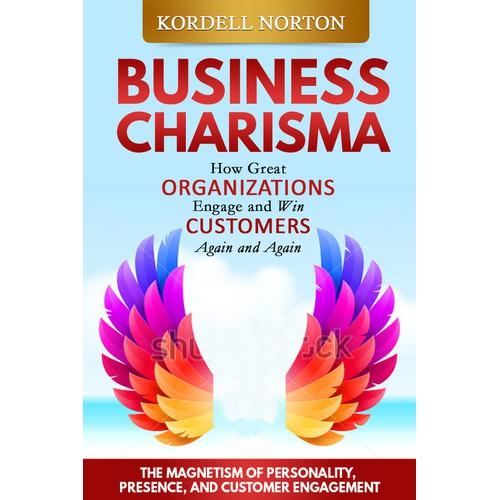 "YOU! Designing a best seller.  Bragging rights for book cover on ""Business Charisma"""