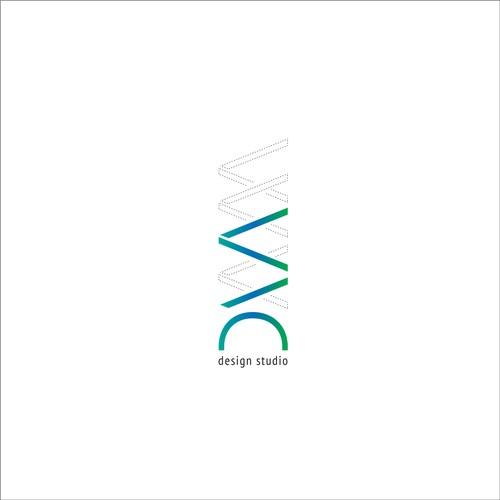 Logo design concept for DNA Design Studio