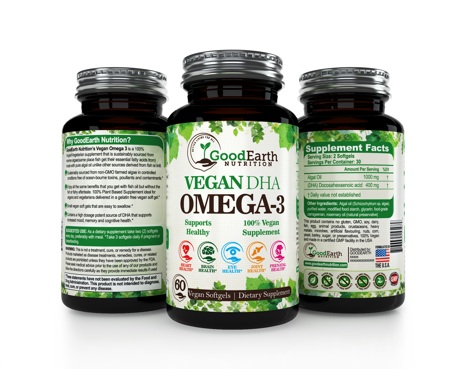 Vitamin Supplement Label(for bottle)