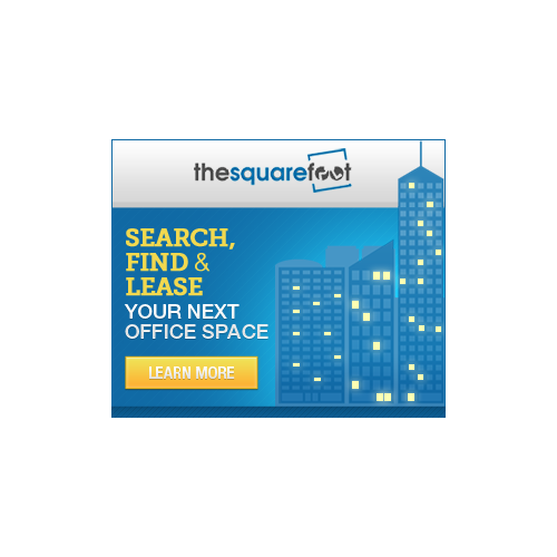 Help TheSquareFoot  with a new banner ad