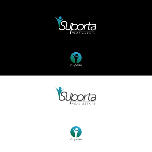 Word logo concept for iSuporta
