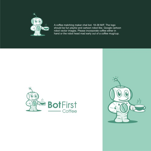 Bot first, Coffee