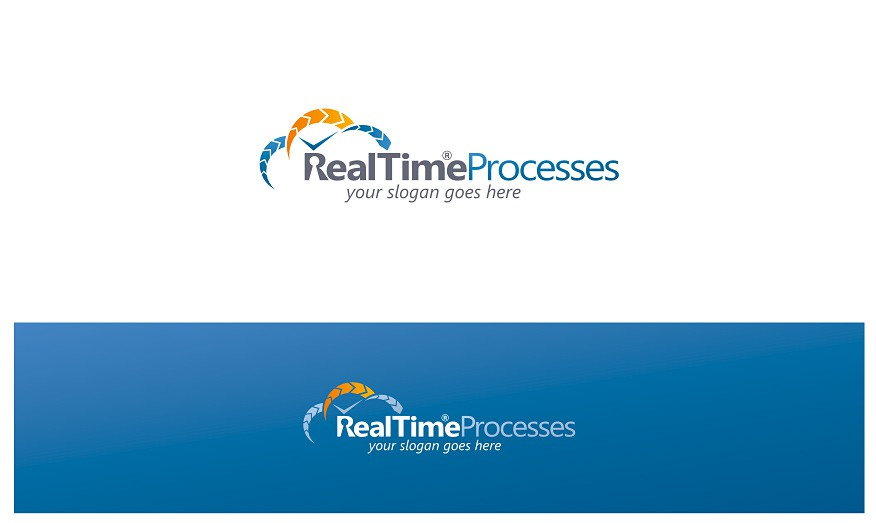 Help RealTimeProcesses with a new logo and business card