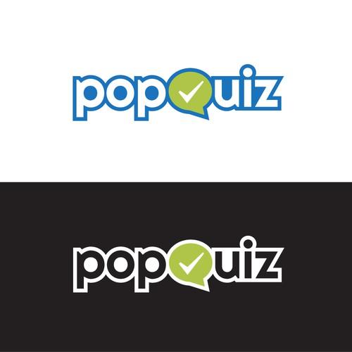 Popquiz website logo