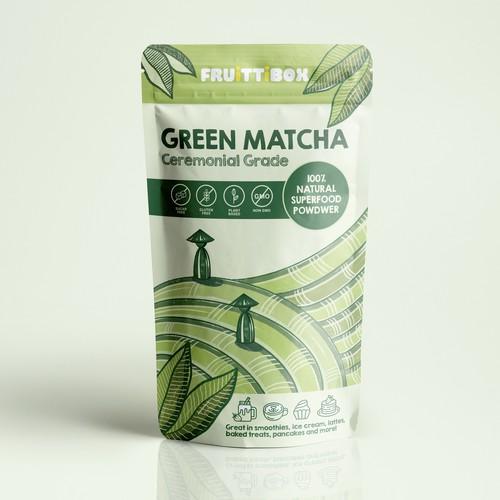 Green Matcha Superfood