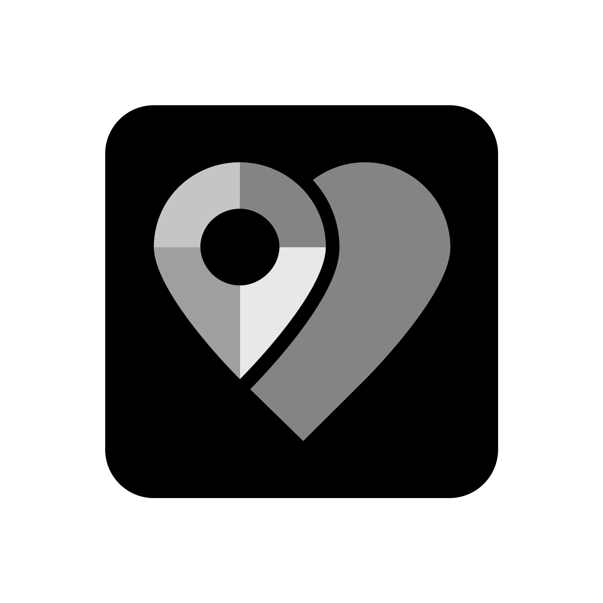 ICON for smart meets heart concept to tie in with existing logo family