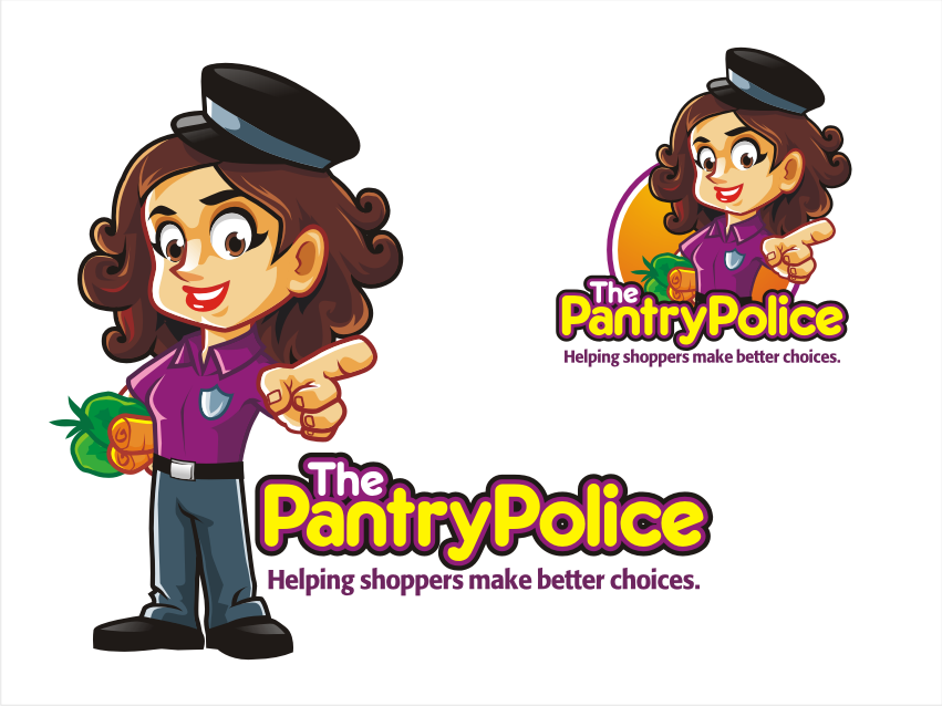 Help The Pantry Police with a new logo