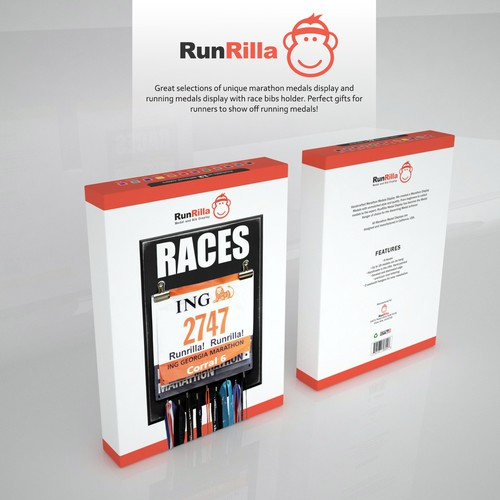Packaging Design for RunRilla